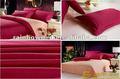 300tc 100% algodão percal e cetim cor- tingidos/cor sólida tecido com sentimento da mão macia para têxteis-lar cama folha
