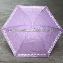 heat transport 3 folding umbrella for sun