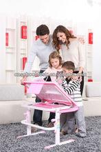 2013 popular school desk and chair/child furniture JL-01