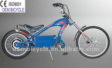 20''-24''inch professional blue electric chopper bicycles for sale