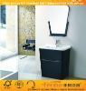 UK style bathroom cabinet with ceramic basin