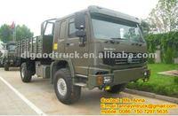HOWO All-wheel 4x4 Military Truck