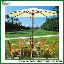 PE rattan table