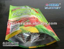 cheap customed printed vacuum bag with ziplock