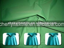 coated taffeta fabric 100 waterproof raincoat