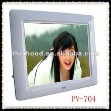 Super thin!!!7 inch digital photo frame multi- functional digital photo frame