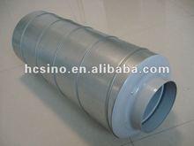2012 New design Galvanized steel Silencer