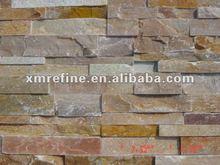 Stacked Stone Tiles-Golden quartzite