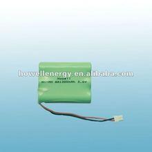 nimh aa 1300mah 3.6v battery/3.6v nimh battery/nimh battery pack 3.6v