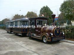 Amazing! Popular Diesel Tourist Train for Amusement Park 5D Cinema, 7D Cinema