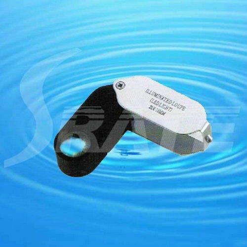 MG21001-A LED Illuminating Jewelers Magnifying Loupe 21mm