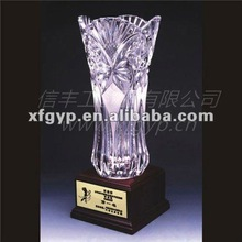 casting flower souvenir Crystal Trophy Cup