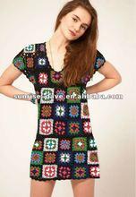 Fashoin crochet Garment/Cotton Ladies Garment/Garment