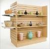 Slatwall store fixtures for Retailers