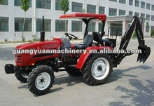 Farm tractor with backhoe, 30HP 4WD small tractor supply