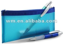 hot sale PVC pen bag with ziplock