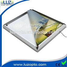 Single side Led slim snap frame light box,led light frame for exhibition