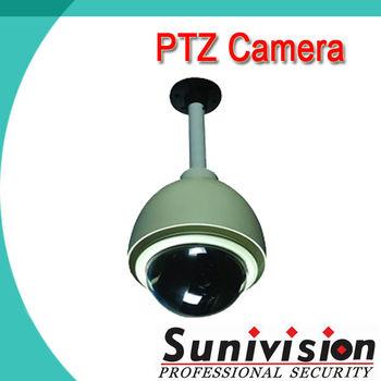 Day and Night 1/4'' CCD 600TVL High Speed Dome Camera PTZ 360 Degree camera