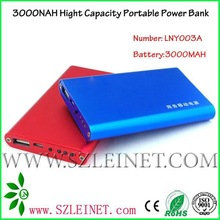 2012 New Products 3000MAH High Capacity portable power battery for iphone