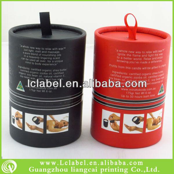 Cardboard Candle Cardboard Candle Packaging