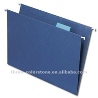 Paper hanging File, 25/box, 5 Tab, Dark blue color