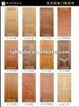 laminado decorativo de la puerta de la piel