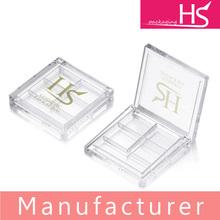 eyeshadow plastic cosmetic packaging case