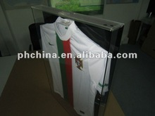 MA-756 Transparent Plexiglass Clothes Display Box,Wall-hanging Acrylic T-shirt Display Box