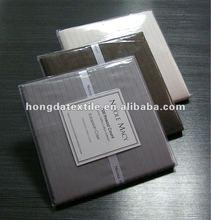 100% cotton luxury pin stripe European pillow case