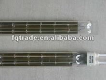 Infrared Twin Quartz Carbon fiber heating Element ,Twin hole Quartz heating emitter