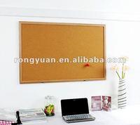 Portable customized size useful decorative cork massage corner board notice push pin board