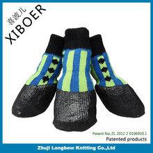 2014 New product outdoor waterproof dog sock dog shoe dog boot