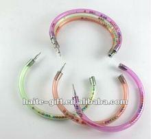 promotional glitter ball-point pen as bracelet