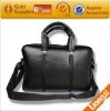 2013 men's top layer genuine leather laptop briefcase