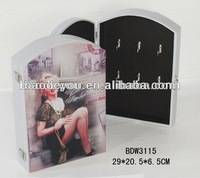 2013 hot sale wooden hidden key boxes