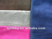2012 hot sell printed wale corduroy fabric