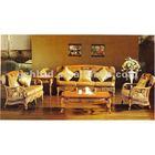 PE/Natural rattan dining table set
