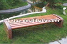 modern wood outdoor wood leisure bench