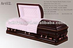 antique pet wooden casket