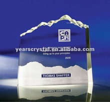2012 pure crystal iceburg award display for souvenir(R-0644