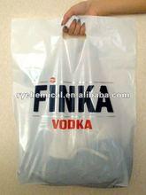 patch rope handle bag for custom plastic bag