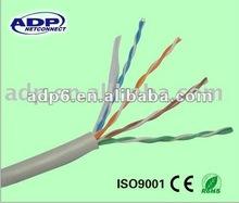 4*2*0.5mm CCA cat5e utp LAN/network cable