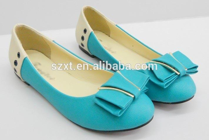 الكلاسيكية النساء الشقق الشقق الشقق أحذية نسائية shoeبو المصنع