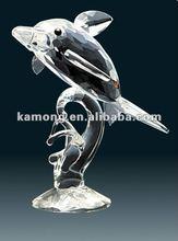 Dolphin crystal animal