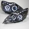 For FORD Focus LED Head Light Angel Eyes 2009-2011 year V2 type