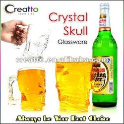 Crystal Skull Head Vodka Wine Shot Glass Drinking Beer Cup