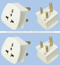 3 pin Electric plug and socket,european adaptor plug