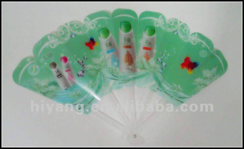 2013 Children play plastic hand fan