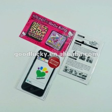 2012 popular advertisng gifts cell phone screen cleaner