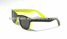 double color unisex sunglasses